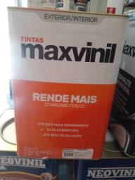 Oferta tinta branco neve 18l rende 500m² na Cuiabá tintas