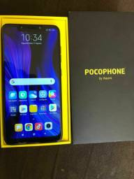 Pocophone F1 top 6 de ram 64 GB R$1280 pra vender logo