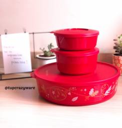 Kit Tigelas Tupperware