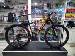 Bicicleta Aro 29 Gts Stilom 24 Velocidades com Freio a Disco Laranja