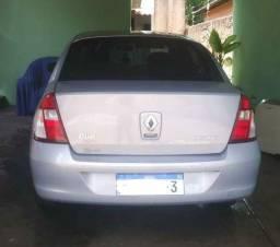 Renaut Clio Sedam 2007 Completo flex