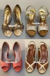 Lote com 22 sapatos variados