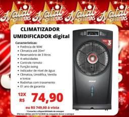 Ventilador umidificador 3l