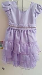 Vestido de festa tamanho 2-3
