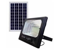 Kit Refletor 50W Com Painel Solar