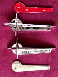 Emblema Tanque Da Hd Pan Head 61-66 - 1 Par E Kit Adaptador