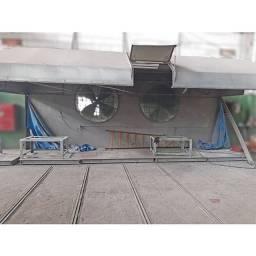 Cabine de Pintura industrial em operação - ML157 Usado