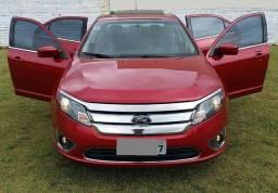 Ford Fusion Sel 2.5 Vermelho Baré - Único dono - IPVA 2020 Pago - Top de Linha.