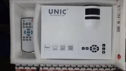 Projetor Home Cinema resolução 1080FHD