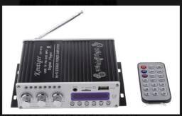Mini amplificador profissional