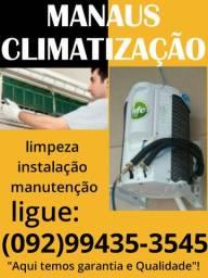 INSTALAÇÃO LIMPEZA GÁS E MANUTENÇÃO EM AR CONDICIONADO SPLIT E ACJ