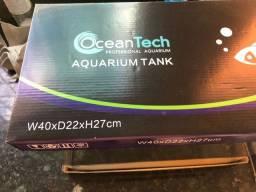 Aquario Ocean Tech 24l com filtro