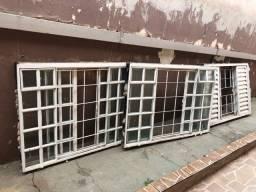 Kit com 6 janelas em perfeito estado