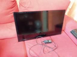 Tv Samsung led 32'' está com defeito na imagem.