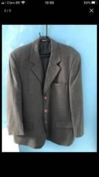 Terno completo paletó,calça (cinza)+ gravata