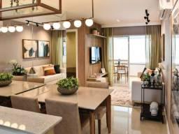 2 quartos com suíte e closet, varanda, armários, em 60m² na Santa Teresa