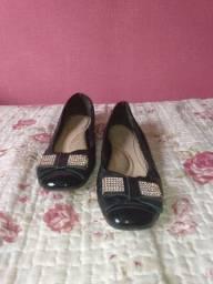 Sapato preto feminino