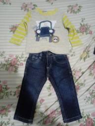 Vendo roupa de menino