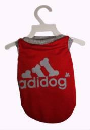 Roupa para cachorro Adidog