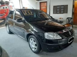 Renault Logan 1.6 completo com gnv sem entrada + 48x fixas