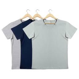 Kit camiseta ? por cento algodão
