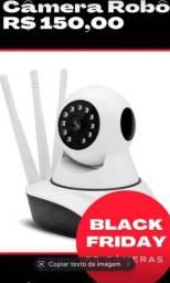 Câmera de segurança via Wi-Fi ime HD visão noturna garantia
