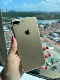 Título do anúncio: iPhone 7 Plus 32GB (gold)