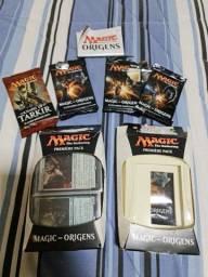2 decks de magic + boosters