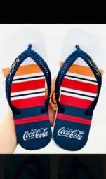 Sandalhas da coca cola original.
