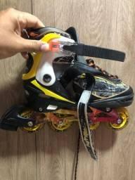 Título do anúncio: Vendo patins muito conservado