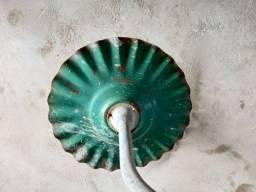 Suporte antigo p colocar lampada .Leia a  aba