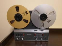 Gravador de rolo Revox A77 Dolby Aceito cartão