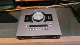 Título do anúncio: Áudio Interface Uad Twin Quad Mk II Thuenderbolt