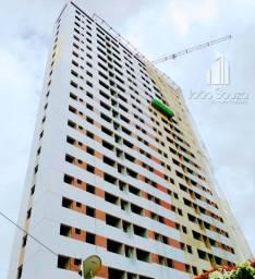 JS- Lindo apartamento de 03 quartos em Casa amarela 67m² - Edf. Fantasy