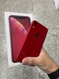 Título do anúncio: iPhone XR vermelho 64gb na caixa // sucesso Apple