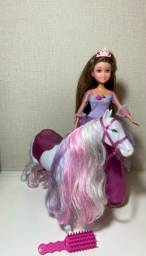 Princesa e cavalo