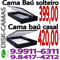 123::: Cama baú box __ colchão castor. ___ cama box baú promoção