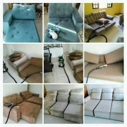 WF Higienização - sofá cadeira poltrona colchão