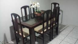 Mesa de jantar + balcao com espelho