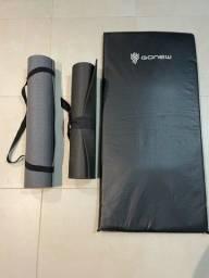 Tapetes de yoga/pilates + colchonete exercicio