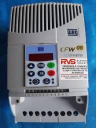 Inversor de Frequência WEG CFW 08 220V 10A 3CV