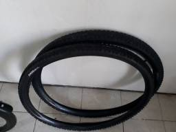 Título do anúncio: O2 pneus 02 câmeras de ar 50 reais aro 29