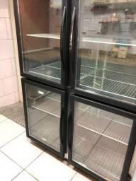 Refrigerador vertical 220 V