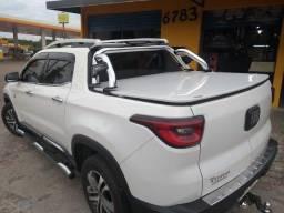 Tampao Aço Eletrico Demovel Ranger Hilux Triton Amarok S10 Toro Frontier