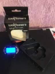 Afinador Cromático com sensor clip (novo)