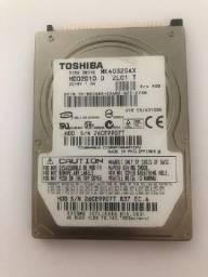 Hd Ide Toshiba 40 Gb ? Notebook ? Em perfeito estado de funcionamento