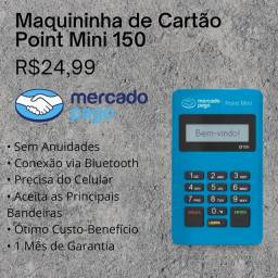Maquininha de Cartão Point Mini D150 // Mercado Pago