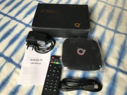 TV Box Q Plus Smart TV 4gb Ram 64 memoria interna