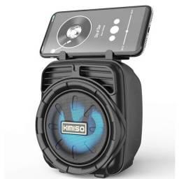 Caixa De Som Portátil Wireless Bluetooth Kimiso Kms-1185