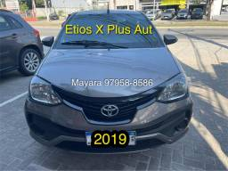 Título do anúncio: Etios 1.5 X Plus Aut 2019 42.000km